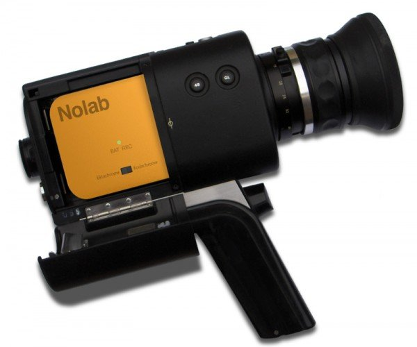 Nolab Digital Cartridge Records Digital Videos from Super 8 Cameras: Because You Never Go Full Hipster