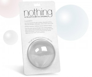 Give the Gift of Nothing