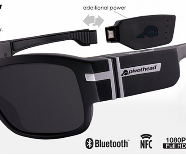 Pivothead SMART Video Glasses Has Swappable Add-Ons: Glass of All Trades
