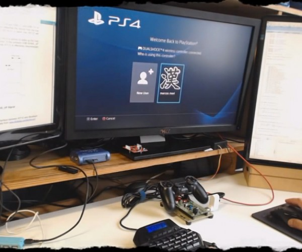 Dualshock 4 Hack Lets You Use Mouse & Keyboard on PS4: Master Peasant