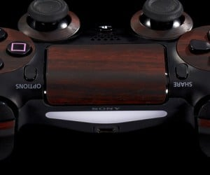 playstation 4 mahogany wood vinyl decal by dbrand 5 300x250