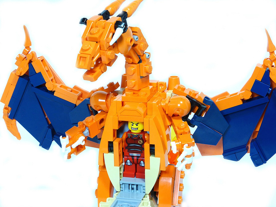 Poke Mecha In Soviet Lego Pok 233 Mon Carry You Technabob