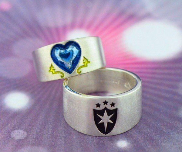 Pony and Brony Wedding Rings: Jewelry is Magic