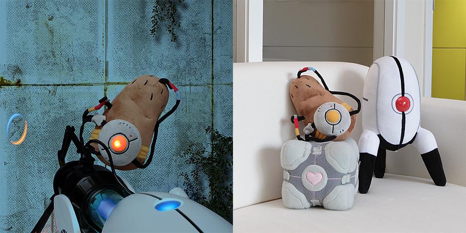 Portal 2 Potatos Plush Isn T Even An Actual Potato But At