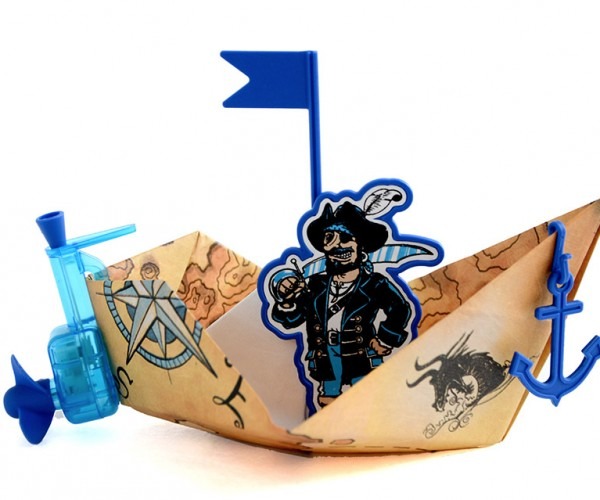 PowerUp Turns Paper Boats into Motor Boats