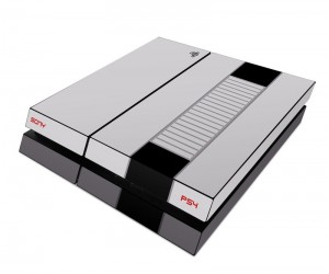 Playstation 4 and Xbox One Retro NES Skins Make Your New Console Look Classic