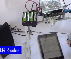 LEGO & Raspberry Pi Reads eBooks Aloud: eReader Reader