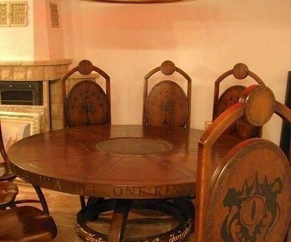Lord of the Rings Dining Room: One Chandelier to Rule Them All