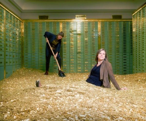 Swiss Bank Deposit Safe for Sale with 8 Million Coins Inside