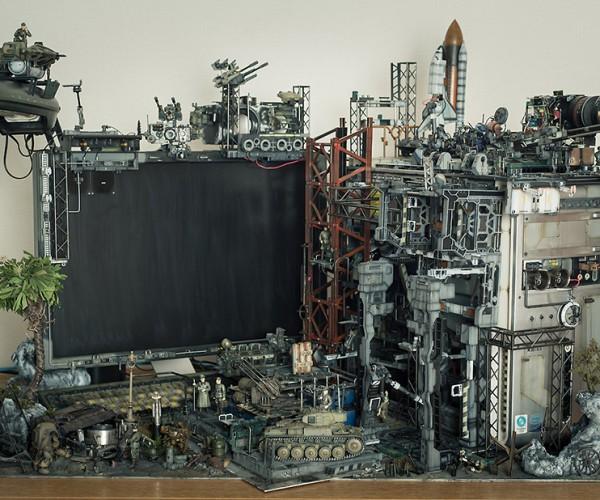 Secret Base PC Casemod: Cyberpunk over Function