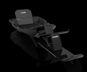 Snolo Carbon Fiber Sled Hasn't Got a Motor, But It Sure Looks Fast