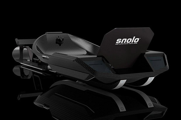 snolo sled carbon fiber back photo