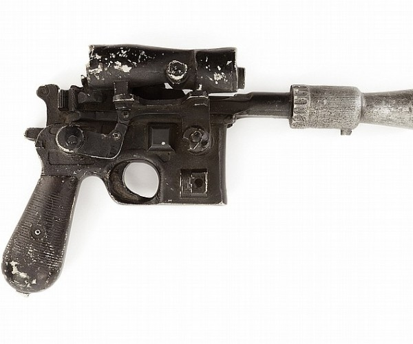 Han Solo's DL-44 Blaster for Sale: Your Chance to Shoot First