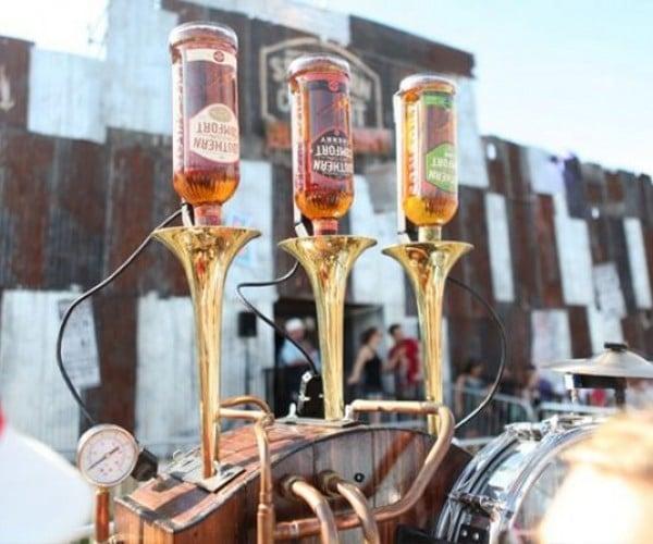 Musical Drink-dispensing Machine Serves Southern Comfort