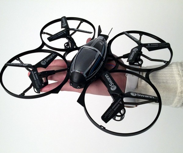 Swann Quad Starship: AR.Drone Mini