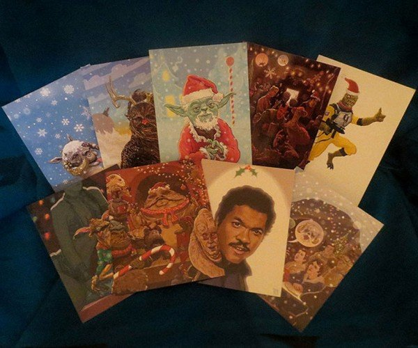 Star Wars Christmas Cards: Happy Hothidays