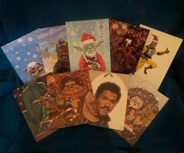Star Wars Christmas Cards: Happy Hothidays