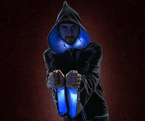 Technomancer Digital Wizard Hoodie Has 32 Multicolored Tricks up Its Sleeve