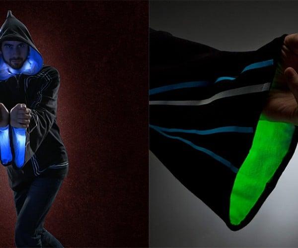 Technomancer Digital Wizard Hoodie Has 32 Multicolored Tricks up Its Sleeve
