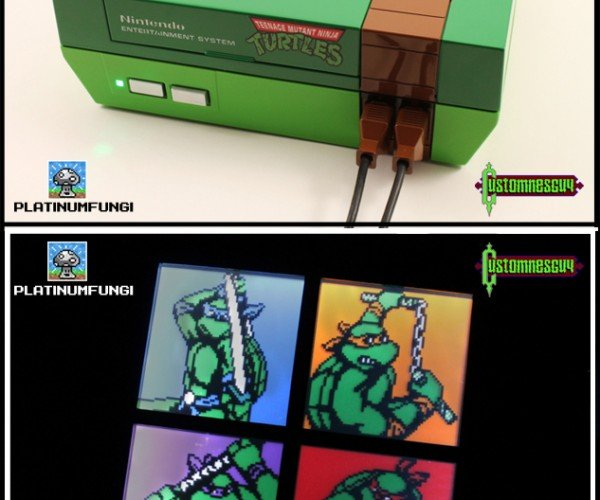 Custom Teenage Mutant Ninja Turtles NES: Heroes on a Console
