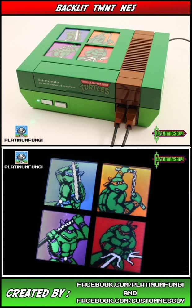 teenage mutant ninja turtles nes mod by platinum fungi and custom nes guy 620x993