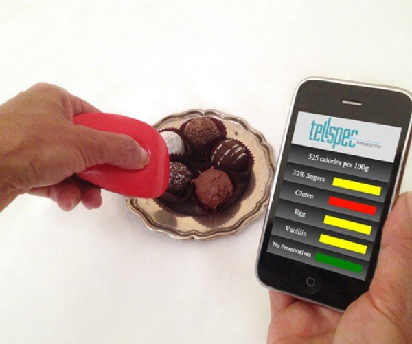 TellSpec Scanner Reveals What's in Your Food: Food Label 2.0