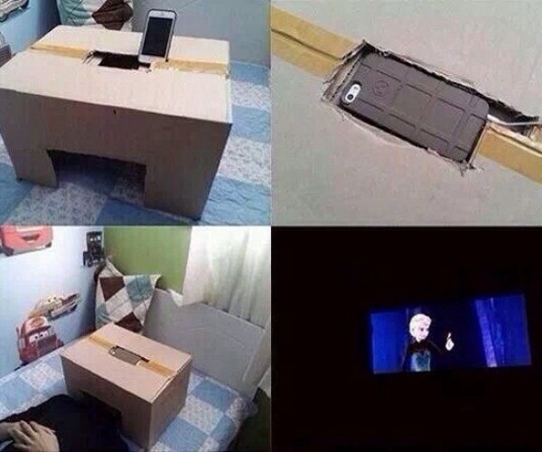 Escape from Life into a Private Movie Theater