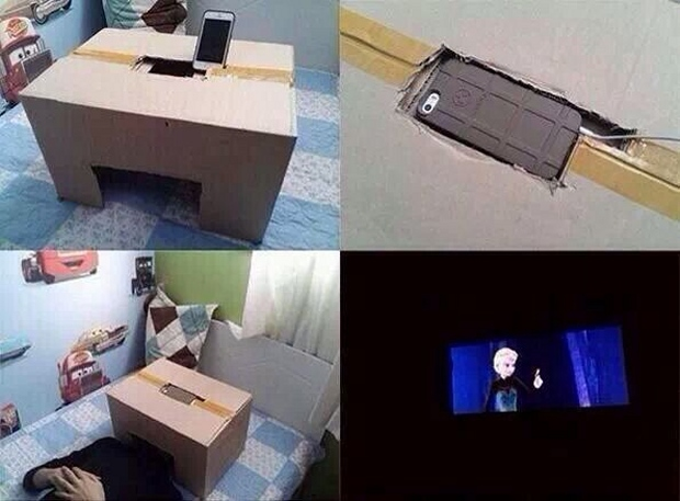 Escape from Life into a Private Movie Theater - Technabob