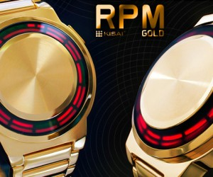 TokyoFlash Kisai RPM Gold Watch Looks Like Something Tony Stark Would Wear