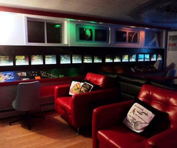 Trekkie Decorates Entire House in Star Trek Theme: Home, The Final Frontier