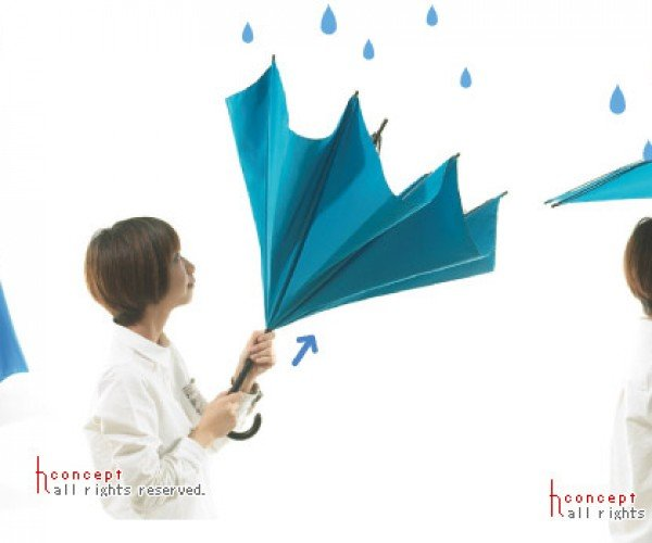 UnBRELLA: The Upside-down, Inside-out Umbrella