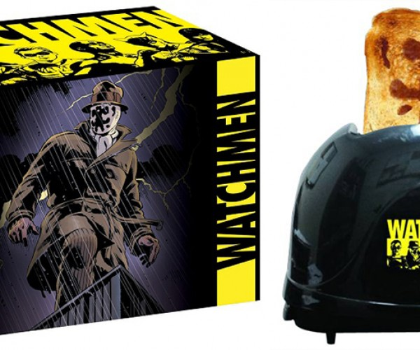 "Watchmen Rorschach Toaster: Bread Will Look up and Shout ""Save Us!"", and I'll Whisper, ""No."""