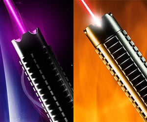 Wicked Lasers Spyder III Lunar and Inferno: United Colors of Sith