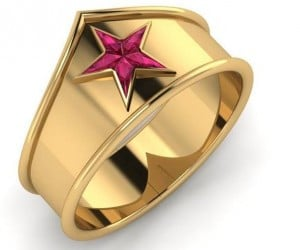 Wonder Woman Ring: Put a Tiara on It
