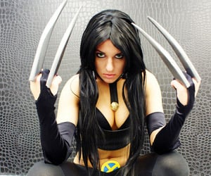 X-23 Cosplay Girl: The Perfect Killing Machine