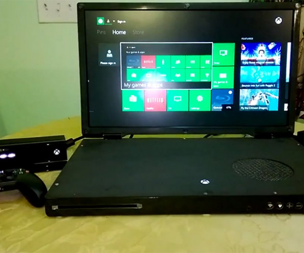Xbox One Laptop: The VCR Slims Down