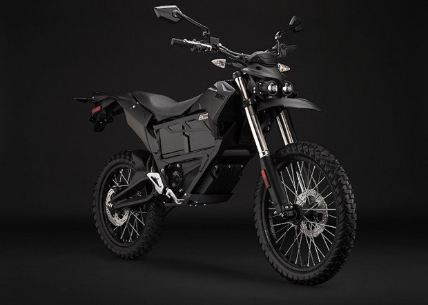 zero fx stealthfighter electric motorcycle side photo