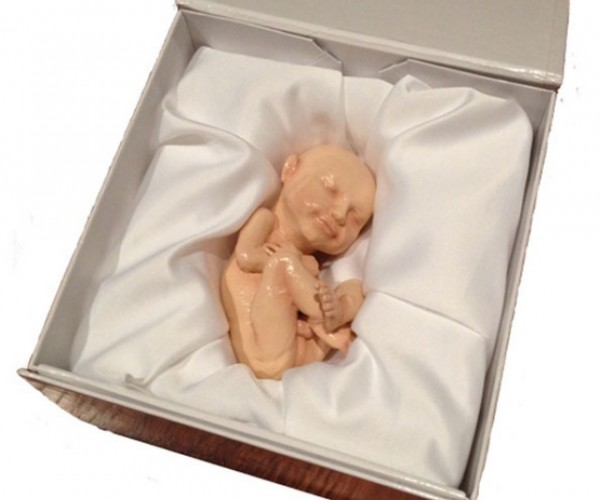 Your Unborn Baby, Immortalized in a 3D Printed Figure