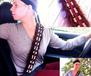 Chewbacca Seat Belt Cover Won't Keep Your Arms from Being Pulled out of their Sockets