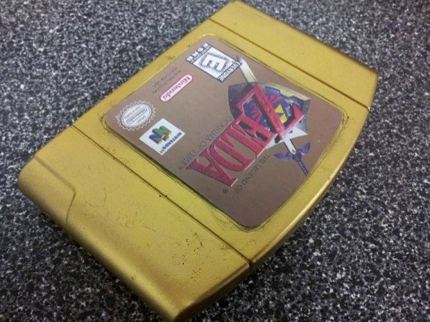 Zelda Gold Cartridge Soap1