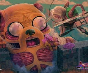 Adventure Time & Attack on Titan Fan Art: Shingeki no Kyo-Jake