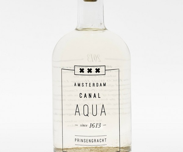 Amsterdam's Canal Aqua: Bottled Canal Water Costs Almost $70 Per Bottle