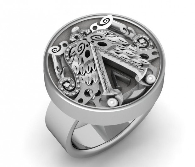 assassins creed ring by paul michael design 620x533