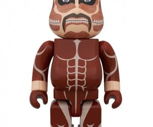 Attack on Titan 400% Colossal Titan Bearbrick is Not Big Enough