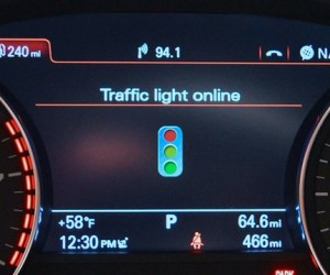 Audi Now Tells You When Traffic Lights Will Turn Green