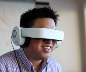 Avegant Glyph Beta Head-Mounted Display Doubles as Headphones: Music & Graphics