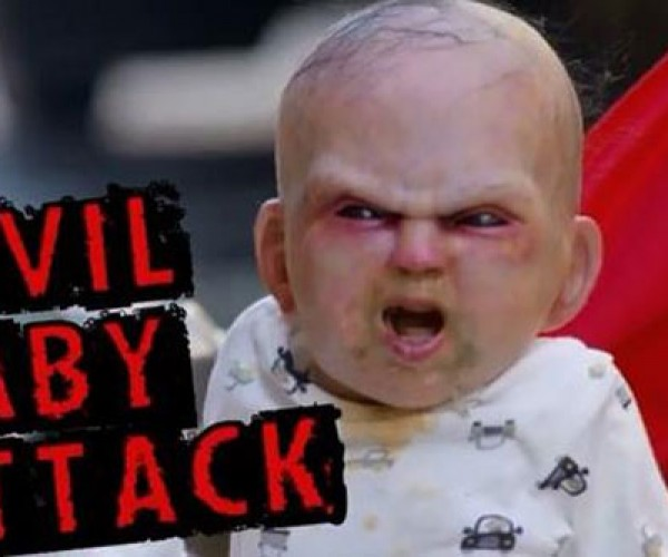When Babies Attack, Only Garbage Men Are Unafraid