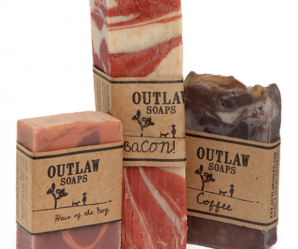 Bacon, Coffee and Whiskey Soaps for Hipster Germophobes