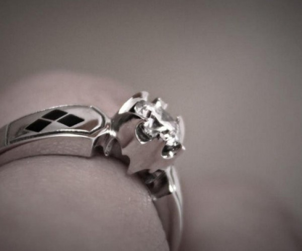 Batman & Harley Quinn Engagement Ring: Is a Quinzel a Type of Stone?