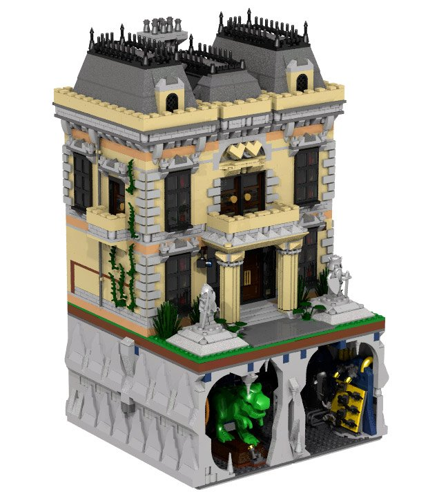 batman wayne manor 3